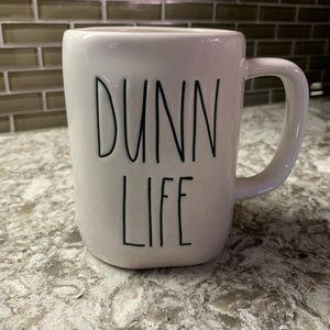 Rae Dunn mug. Dunn life.